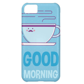 Good Morning Coffee Addicts iPhone 5C Case