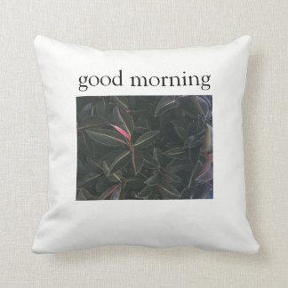 good morning cushion