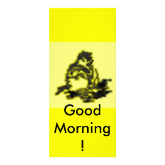 Good Morning ! Customized Rack Card
