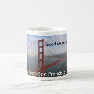 Good morning from San Francisco Coffee Mug