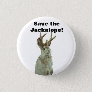 Good Morning Gomorrah: Save the Jackalope! 3 Cm Round Badge