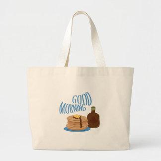 Good Morning Jumbo Tote Bag