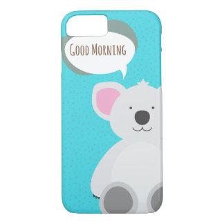 Good Morning Koala iPhone 7 Case