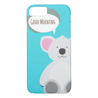 Good Morning Koala iPhone 8/7 Case