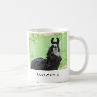Good Morning Llama Mug