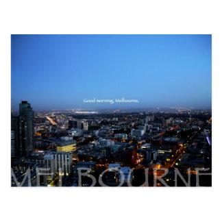Good Morning, Melbourne Postcard