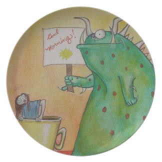 Good Morning! Plate
