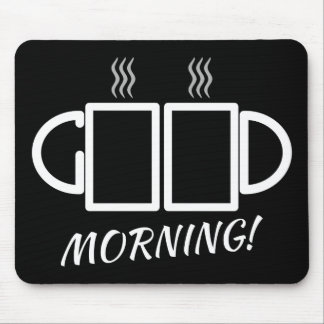 Good Morning! Puzzle Mousepad