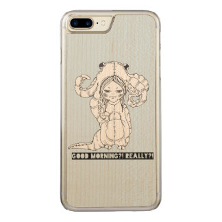 Good morning? Really? Carved iPhone 8 Plus/7 Plus Case
