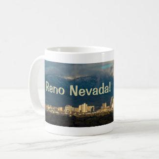 Good Morning Reno Nevada Skyline Mug