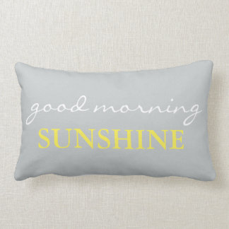 """""""Good Morning Sunshine"""" Accent Bed Pillow"""
