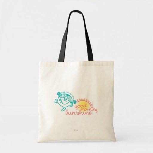 Good Morning Sunshine Canvas Bags