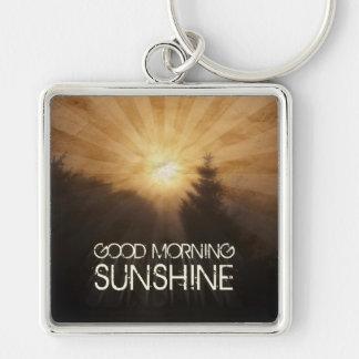 Good Morning Sunshine Key Ring