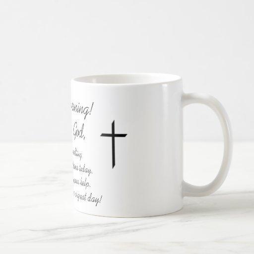 Good Morning, This is God Mugs