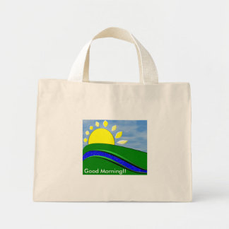 Good Morning Tote Tote Bags