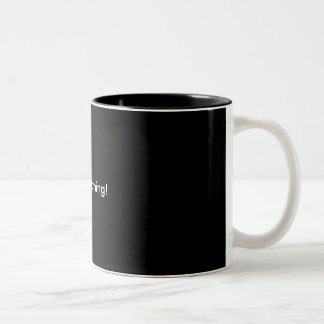 Good Morning! Two-Tone Coffee Mug