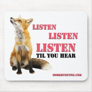 Good Music Fox Mousepad