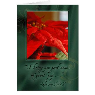 Good News of Christmas Card