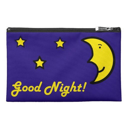 Good Night/Good Morning Travel Accessories Bag