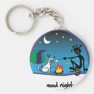 """""""Good Night!"""" Key Ring"""