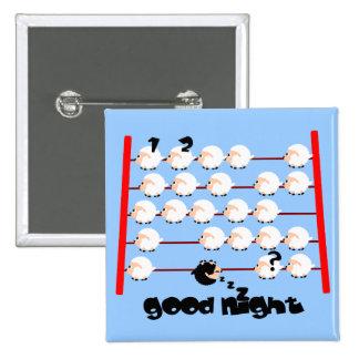 good night sheep pin