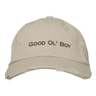 Good Ol' Boy embroidered baseball hat cap Embroidered Hat