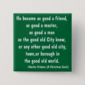 Good Old - The Scrooge Series 15 Cm Square Badge