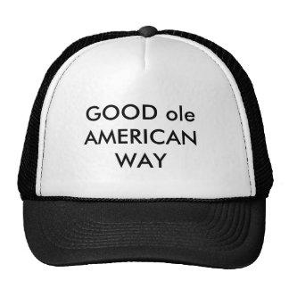 GOOD oleAMERICAN WAY Cap