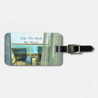 Good On Board Personalised Luggage Tag