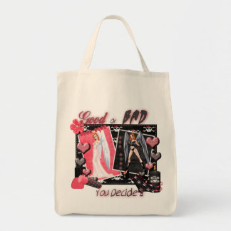 Good Or Bad - Organic Grocery Tote