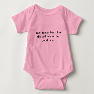 good or evil baby baby bodysuit