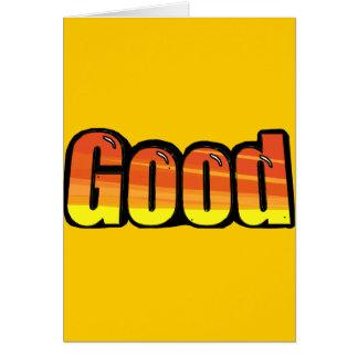 Good Orange Spraypaint Graphic Customize Me Greeting Cards