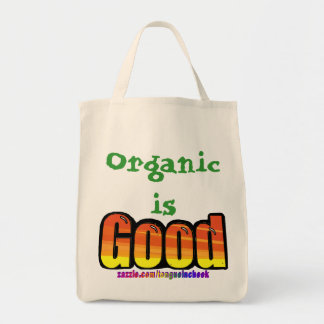 Good Orange Spraypaint Graphic, Customize Me! Grocery Tote Bag