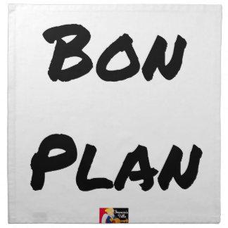 Good plan - Word games - François City Napkin
