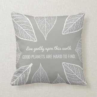 Good Planets Are Hard To Find Quote Throw Pillow