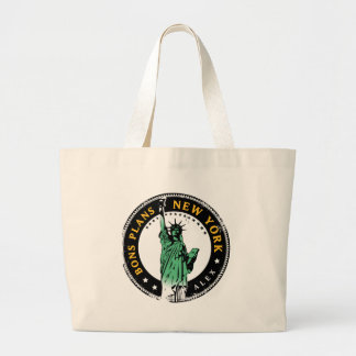 Good Plans for a voyage to New York Tote Bags