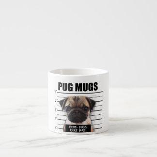 good pugs gone bad espresso mug
