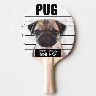 good pugs gone bad ping pong paddle