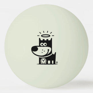 GOOD PUPPY Ping Pong Ball . Glow In The Dark