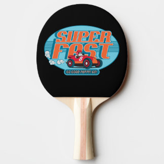 GOOD PUPPY Ping Pong . Super Fast Ping Pong Paddle