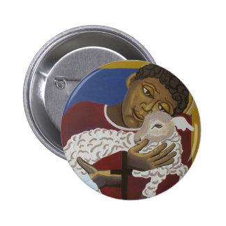 Good Shepherd parable Button