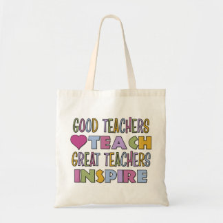 Good Teachers Teach Tote Bags