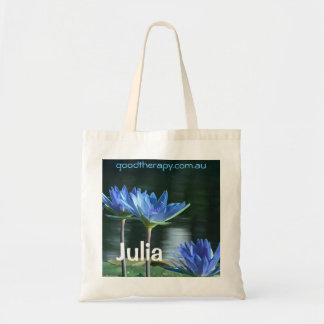 Good Therapy Water Lilly Tote Bag