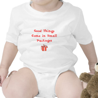 Good Things Come in Small Packages Baby Bodysuits