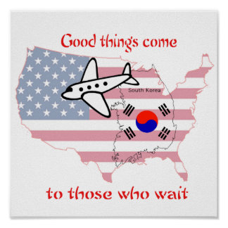 good things come to those who wait - Korean adopti Poster