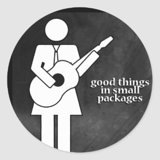 Good Things in Small Packages Round Sticker