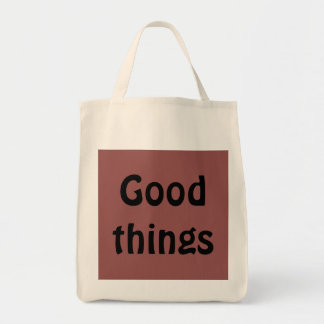 Good Things Tote Grocery Tote Bag