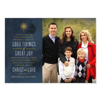 Good Tidings of Great Joy 13 Cm X 18 Cm Invitation Card