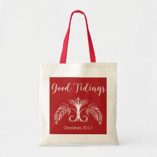 Good Tidings We Bring Custom Christmas #holidayZ Tote Bag