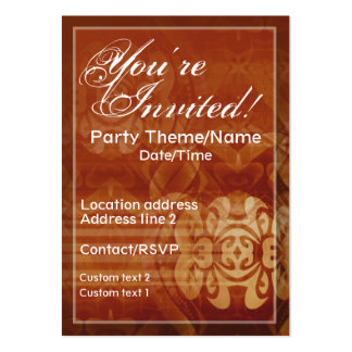 Good Times Invite Card Pack Of Chubby Business Cards